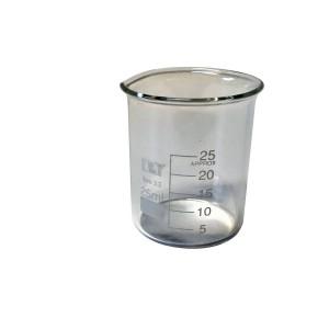 Zlewka szklana niska